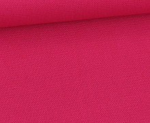 Canvas Stoff - feste Baumwolle - Uni - Fuchsia