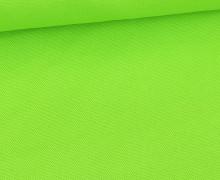 Canvas Stoff - feste Baumwolle - Uni - Gelbgrün