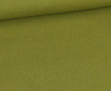 Canvas Stoff - feste Baumwolle - Uni - Schilfgrün