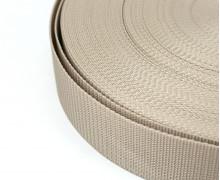 1 Meter Gurtband - Beige (307) - 50mm