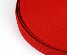 1 Meter Gurtband - Erdbeerrot (162) - 40mm