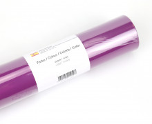 Glänzende Vinylfolie - 21x300cm - Violett