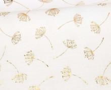 Musselin - Muslin - Double Gauze - Dandelion - Poppy - Weiß