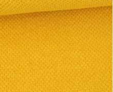 Weicher Waffel Frottee - Baumwolle - 210g - Uni - Maisgelb