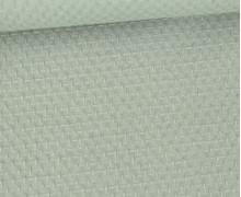 Waffel Struktur Piqué - Baumwolle - 210g - Lichtgrün