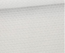 Waffel Struktur Piqué - Baumwolle - 210g - Lichtgrau