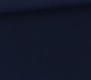 Baumwollstoff - Webware - Popelin - Uni - 150cm - Stahlblau