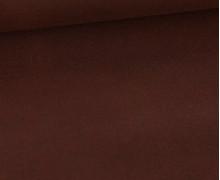 Oil Skin - Gewachste Baumwolle - Oilskin - Uni - Rotbraun