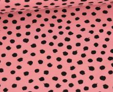 Jersey - Dots - Poppy - Altrosa
