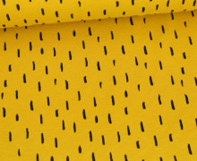Jersey - Playful Stripes - Poppy - Maisgelb