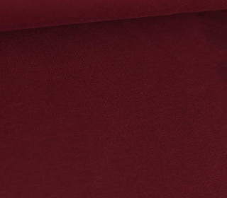 Sommersweat Greta - French Terry - Uni - 250g - Bordeaux