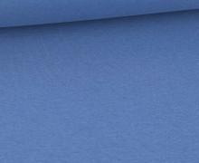 WOW Angebot - Glattes Bündchen - Uni - Schlauch - Taubenblau