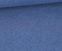 WOW Angebot - Glattes Bündchen - Uni - Schlauch - Taubenblau Meliert