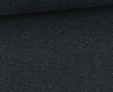 WOW Angebot - Glattes Bündchen - Uni - Schlauch - Stahlblau Meliert