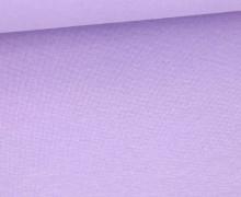 WOW Angebot - Glattes Bündchen - Uni - Schlauch - Pastelllila