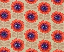 Canvas - Eye Candy - In My Garden - Creme - Hamburger Liebe