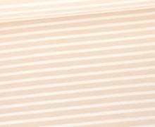 Jersey - Weiße Streifen - Beige