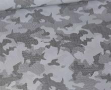 Leichter Regenjacken Stoff - Regencape - Reflektor - Camouflage - Hai - Schwarz