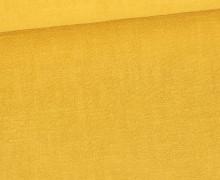 Ramie - Naturfaser - Uni - Maisgelb
