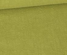 Ramie – Naturfaser – Uni – Farngrün