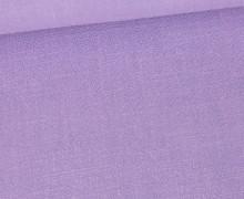 Viskose Leinen - Leinenstoff - Uni - Lavendel