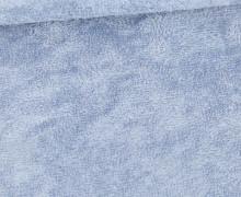 Frottee - Bambus - Uni - Pastellblau