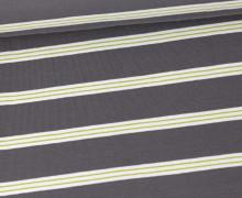 Jersey - Streifen - Stripes - Dunkelgrau