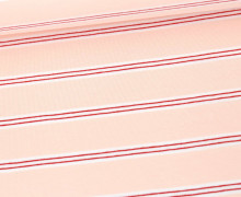 Jersey - Streifen - Stripes - Blassrosa