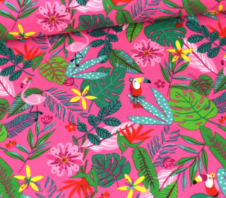 Jersey - Tropical - Pink