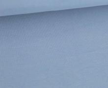 Soft Brush Jersey - Weich - Uni - Hellblau
