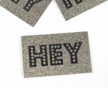 1 XXL GLITZERLABEL - Multicolor - HEY