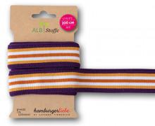 Streifenband - Stripe Me - College - 5 Stripes - Life Loves You - Multi - Hamburger Liebe - Lila