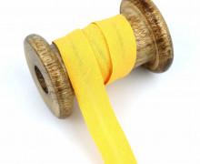 1 Bund Schrägband - 3 Meter - Zugeschnitten - 20mm - Maisgelb