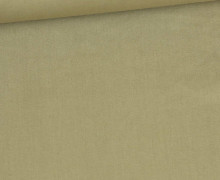 Baumwollstoff - Webware - Uni - 145cm - Beige