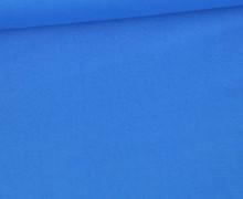 Baumwolle - Webware - Uni - 145cm - Blau