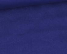 Baumwolle - Webware - Uni - 145cm - Blaulila