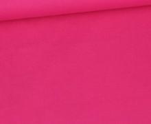 Baumwolle - Webware - Uni - 145cm - Pink