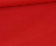 Baumwolle - Webware - Uni - 145cm - Rot