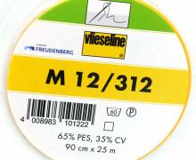 1 Meter Vlieseline - M 12/312 - Näheinlage - Freudenberg - Weiß