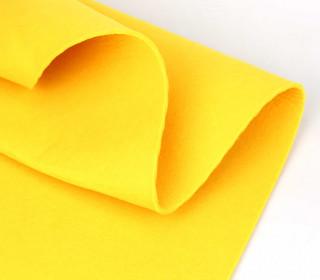 3mm Filz - Polyesterfilz - Klassik Filz - Gelb