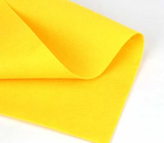 1mm Filz - Polyesterfilz - Klassik Filz - Gelb