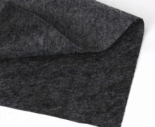 1mm Filz - Polyesterfilz - Klassik Filz - Dunkelgrau Meliert