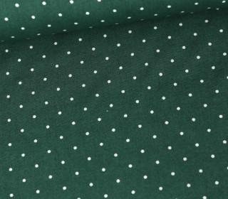 Baumwolle - Webware - A Lot Of Dots - Moosgrün