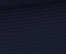 Waffel Piqué - Baumwolle - 275g - Stahlblau