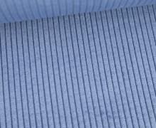 Cord - Breitcord - Weich - Uni - Hellblau
