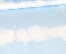 Modal Jersey - Tie-Dye Love - Batik - Streifen - Blau - abby and me