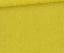 Viskose Crincle - Blusenstoff - Silberne Nadelstreifen - Ockergelb