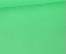 Baumwolle - Popelin - Webware - Uni - 145cm - Weißgrün