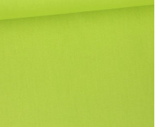 Baumwolle - Popelin - Webware - Uni - 145cm - Hellgrün