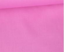 Baumwolle - Popelin - Webware - Uni - 145cm - Rosa